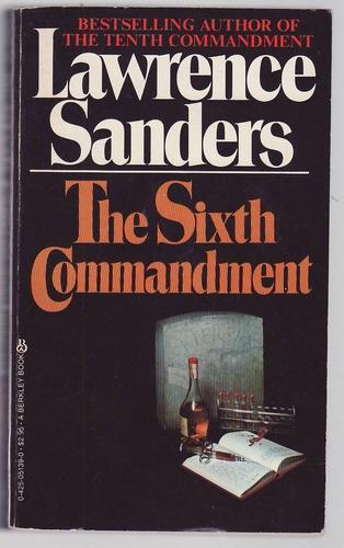 Sixth Commandment. Lawrence Sanders