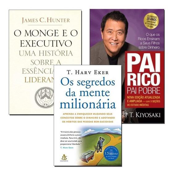 Pai Rico Pai Pobre + O Monge E O Executivo + Mente Milionári