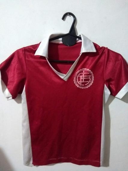 Antigua Camiseta De Lanus Talle Niño Vintage, Retro