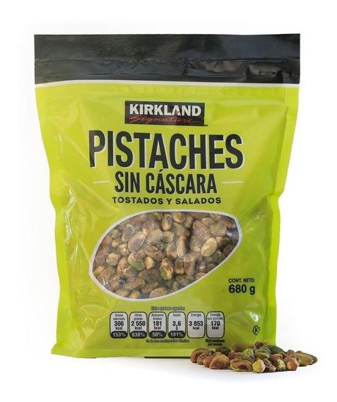 Pistaches Sin Cáscara Kirkland Signature De 680 Gr