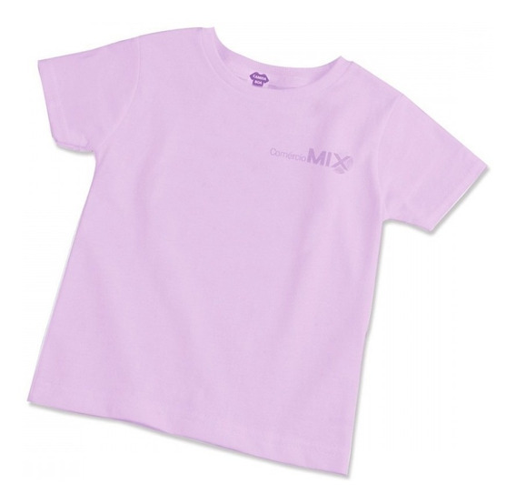 5 Camisetas Infantis 100% Poliéster Para Sublimação