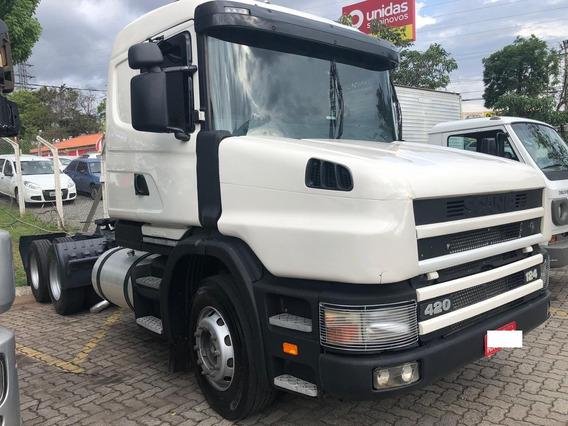 Scania G420 2000-2000 6x2 Toda Revisada Com Notas Fiscais
