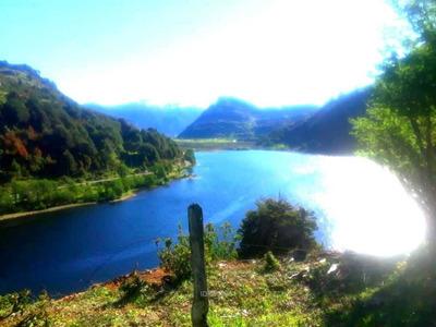 Lago Atravesado, Laguna Cea, Región Aisé