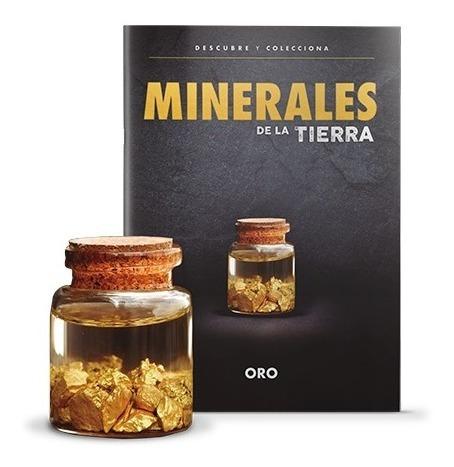Imagen 1 de 1 de Colección Minerales De La Tierra Oro + Libro Lun