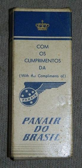 Cajita De Cigarrillos De Avion - Panair - Minister