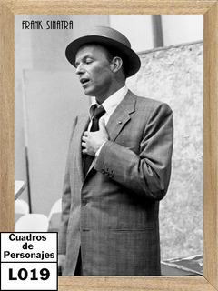 Frank Sinatra , Cuadro, Foto, Poster L019