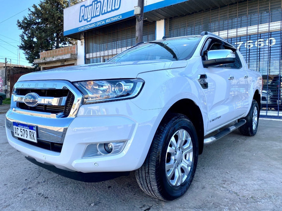Impecable Ford Ranger 2018 3.2 Tdci 4x4 Cd Limited At L/16