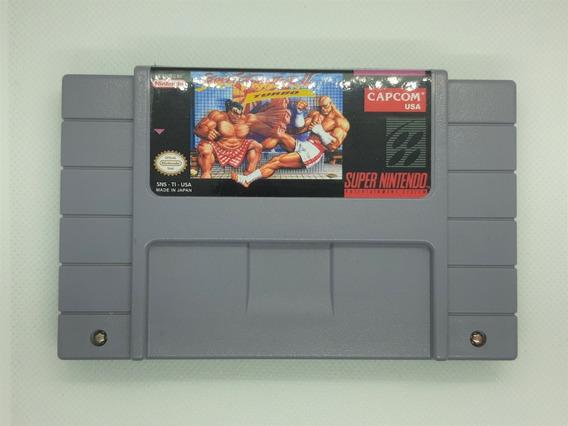 Street Fighter 2 Turbo Original Snes Super Nintendo Relabel