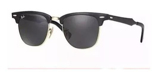Oculos De Sol Clubmaster Classico Lentes De Cristal