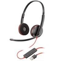 Audifono Y Mic De Diadema Plantronics Blackwire C32 Spk-1658