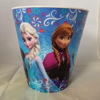 Cubeta Plastica Para Basura De Frozen