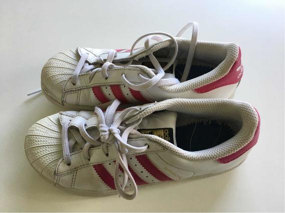Zapallitas adidas Superstar Talle 32 Originales Muy Poco Uso