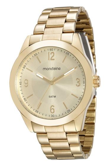Relógio Mondaine Feminino Dourado 78714mpmvda1