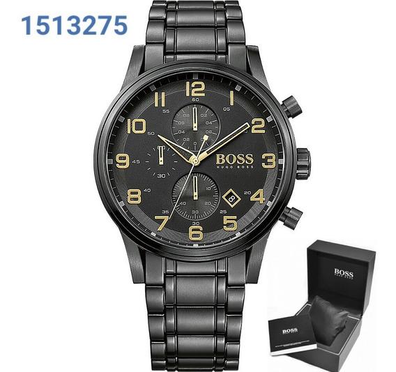 Relógio Masculino Hugo Boss Aeroliner 1513275 Completo
