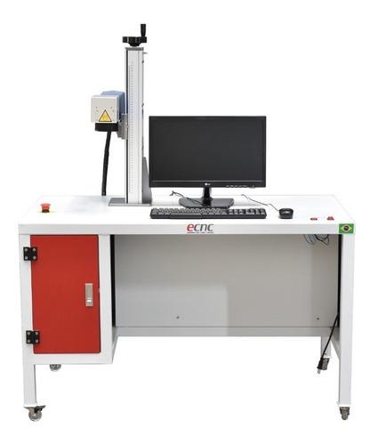 Máquina De Gravação A Laser Fiber Laser 200x200mm 30w