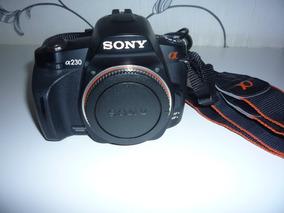 Sony Alpha 230 - Câmera Digital - Novinha