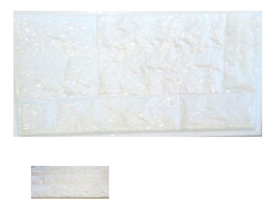 Molde Placa Revestimiento Antihumedad Simil Piedra 51 X 25