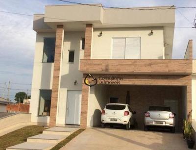 Casa Residencial À Venda, Condomínio Real Park, Sumaré - Ca0639. - Ca0639
