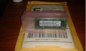 Memoria 4gb Ddr2 Pc2 5300 667mhz Sodimm Micron