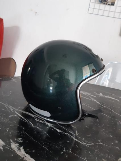 Capacete Urban Helmets Verde Flake Old School N. 58