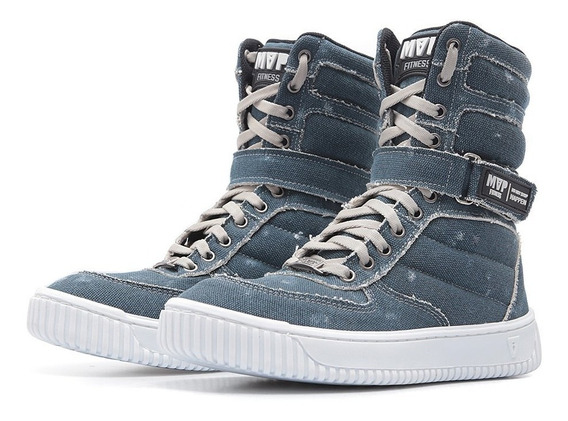 Tênis Treino Bota Feminina Mvp Boot Fashion Jeans