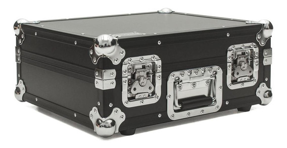 Hard Case Toca Disco Mk Technics Sl 1210 Mk2 Black/chrome