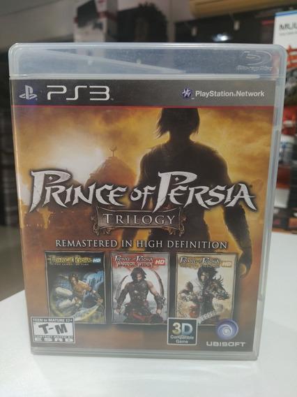 Ps3 Prince Of Pérsia Trilogy Mídia Física