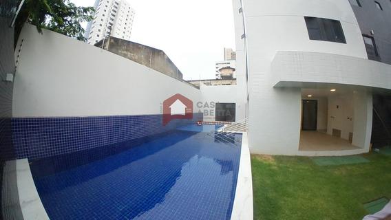 Apartamento Para Venda Em Natal Com 4 Suítes, 119 M² - Ap00006 - 33889809