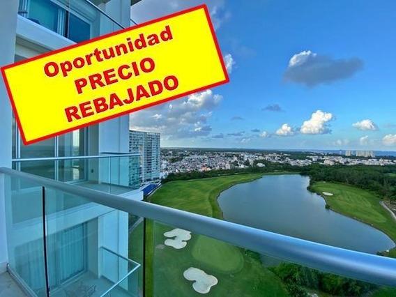 Departamento En Venta/renta De 4 Recámaras En Sky, Avenida Bonampak, Puerto Cancún
