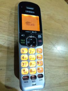 Extensión De Teléfono Inalambrico Uniden Dect 6.0 Usado.