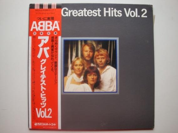 Abba Greatest Hits Vol Lp Vinilo Japon 79 Rk