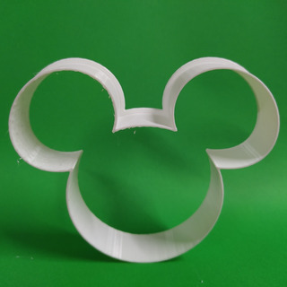 Set Cortadores De Galleta/fondant Mickey Mouse (4piezas)