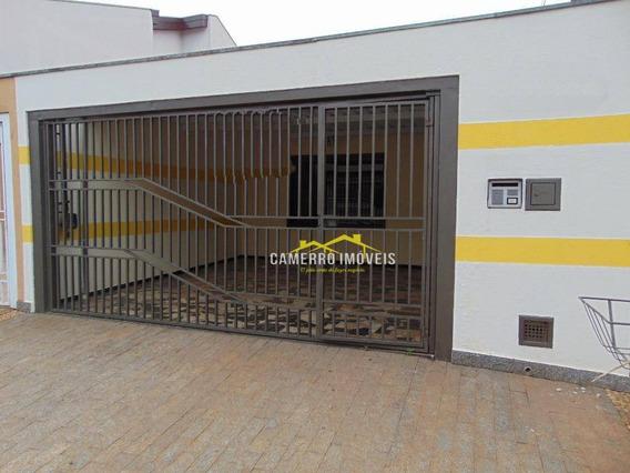 Casa Com 3 Dormitórios Para Alugar, 120 M² Por R$ 1.600,00/mês - Residencial Jacira - Americana/sp - Ca2169