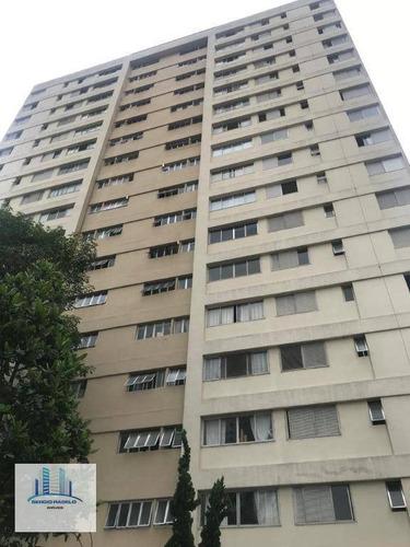 Apartamento Com 3 Dormitórios À Venda, 110 M² Por R$ 830.000 - Vila Olímpia - São Paulo/sp - Ap3792