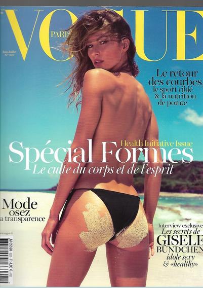 Vogue Paris 2012 Gisele Bundchen Frete Grátis