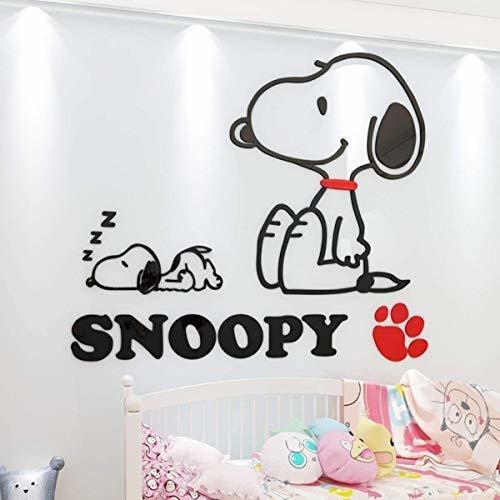 Pqzqmq Snoopy Vinilos Adhesivos Para Habitaciones De Niños