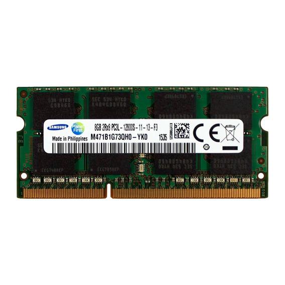 ! Mem Ram Notebook Samsung 8gb Ddr3l 1,35v Pc12800 Semin