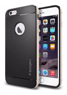 Funda Spigen Neo Hybrid Metal iPhone 6/6s Plus - Dorado