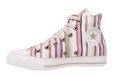 Converse All Star - Botita Estampada- Stripes - New Konas