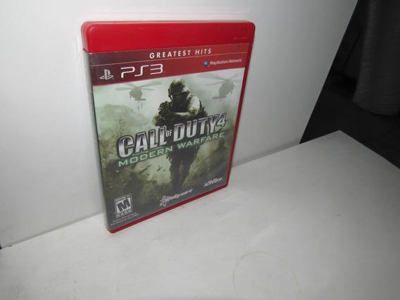 Call Of Duty 4 Modern Warfare Ps3 Mídia Física Semi-novo