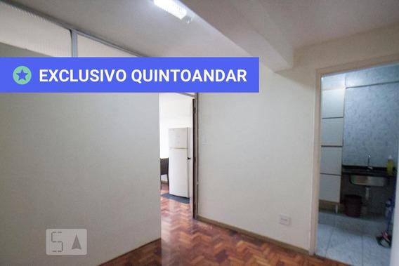 Apartamento No 22º Andar Com 1 Dormitório E 1 Garagem - Id: 892986734 - 286734