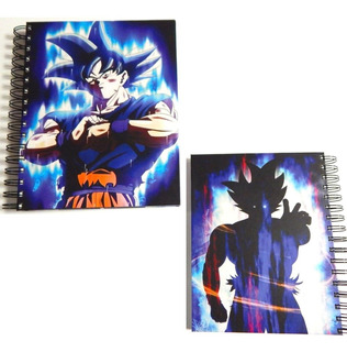 Dragon Ball Cuaderno Goku Doctrina Egoista Pasta Dura 180hjs