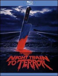 Blu-ray Night Train To Terror [eua] Novo Lacrado