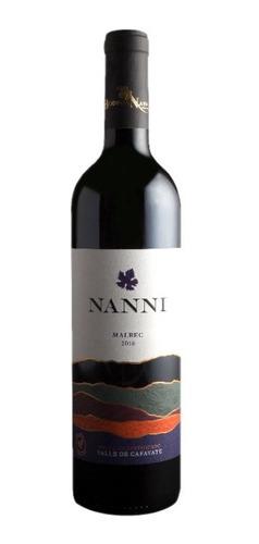 Vino Organico Nanni Malbec - Caja X 6 Bot - Tienda Oficial