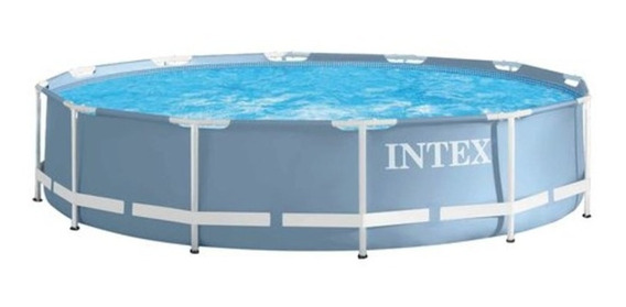 Alberca Piscina Redonda Tubular Familiar De 3.05 Met Intex