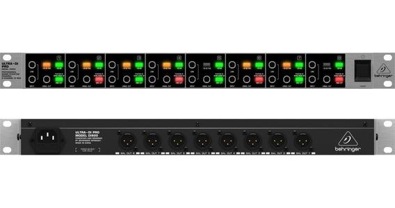 Di800 Direct Box Behringer Ultra Di Pro Defeito Em 1 Canal