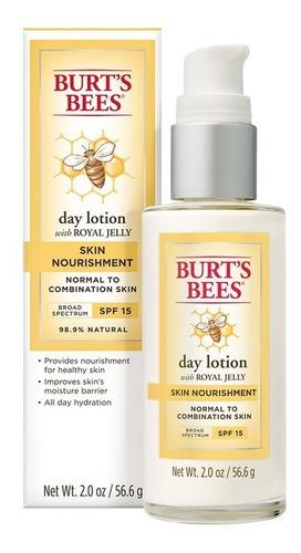 Loción Facial De Día Burt's Bees Spf/15 Skin Nourishment 55
