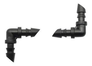 Codo Cople L Riego Por Goteo 4mm 30 Piezas