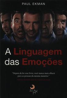 Livro Físico - A Linguagem Das Emoções Paul Ekman