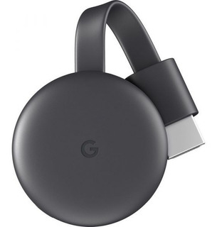 Chromecast 3 Novo Lacrado Original Pronta Entrega